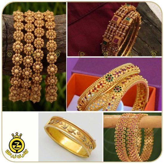 انواع مختلف النگو طلا