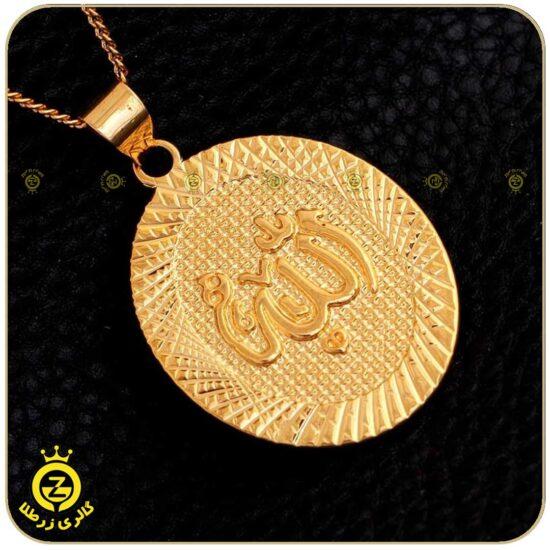 گردنبند طلای بزرگ عربی