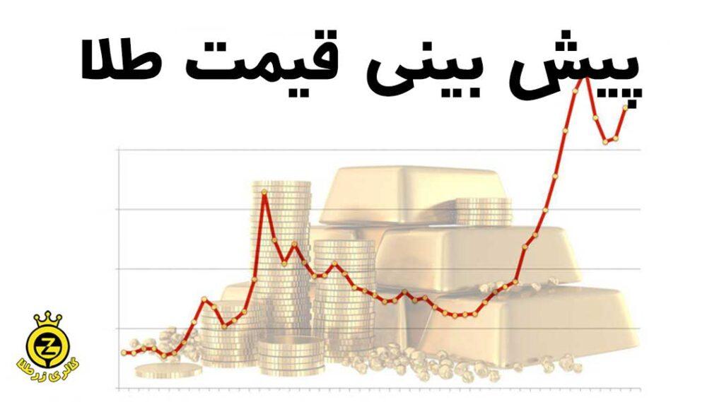 پیش بینی قیمت طلا در سال 2021
