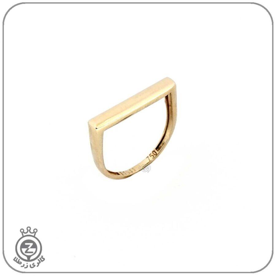 انگشتر طلا زنانه طرح 1