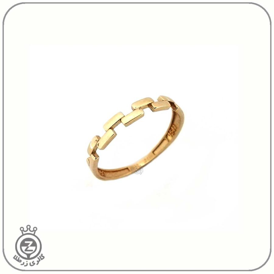 انگشتر طلا زنانه طرح 8