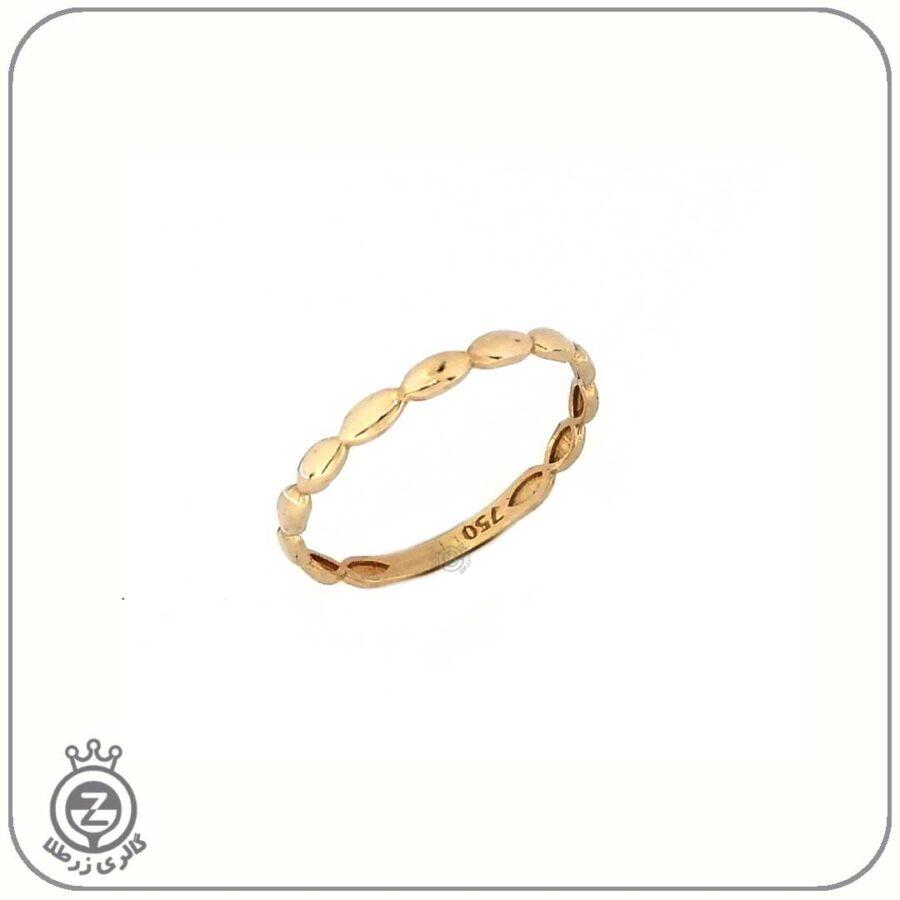 انگشتر طلا زنانه طرح 9