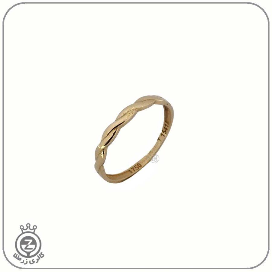 انگشتر طلا زنانه طرح 4