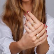 عکس انگشتر پورتوفینو طلا با مدل
