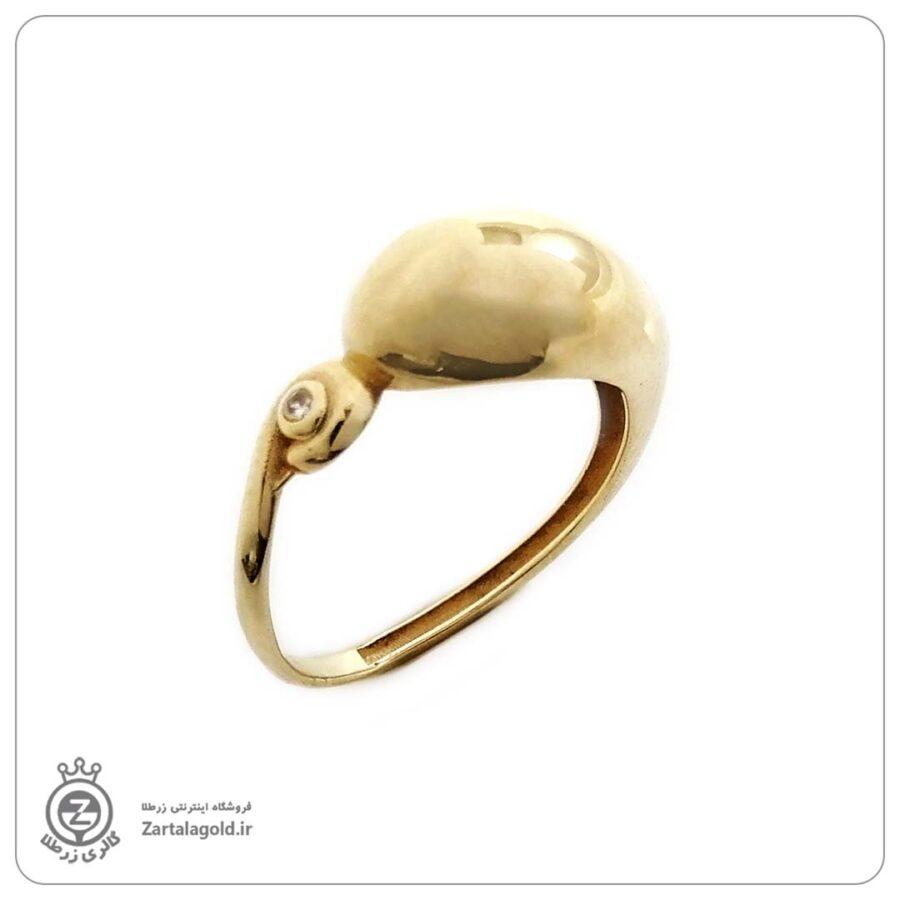 انگشتر طلا زنانه طرح 29